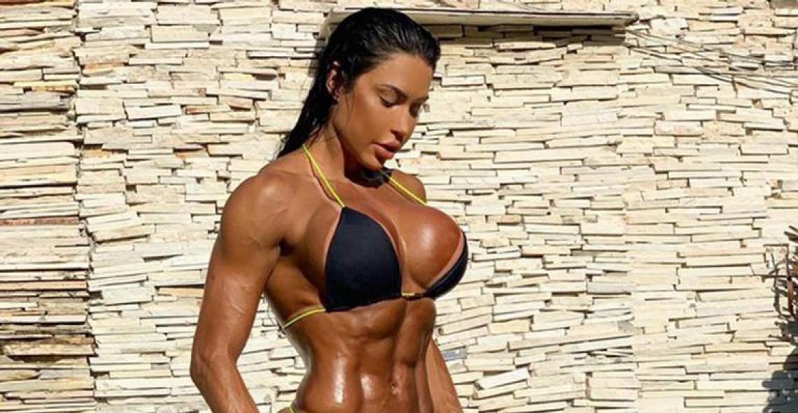 Gracyanne Barbosa revela ter trabalhado como faxineira em academia para poder treinar.