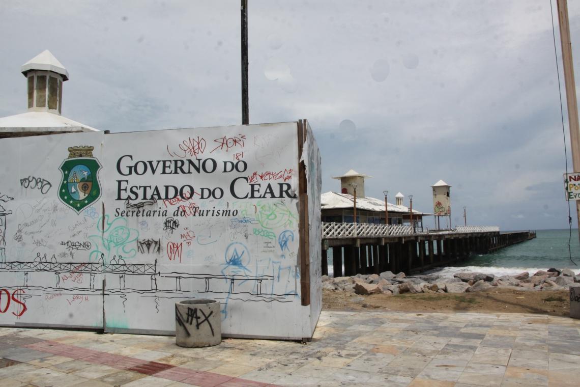 Secretaria do Turismo do Ceará (Setur) irá contratar escritório de arquitetura para revitalização da Ponte dos Ingleses.