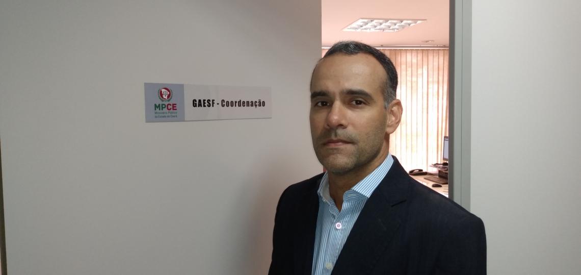 promotor Ricardo Rabelo, coordenador operacional do Cira-Ceará