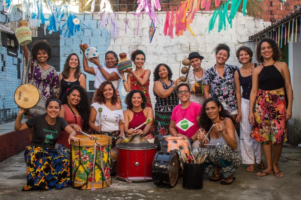 Grupo cearense Batuque de Mulher