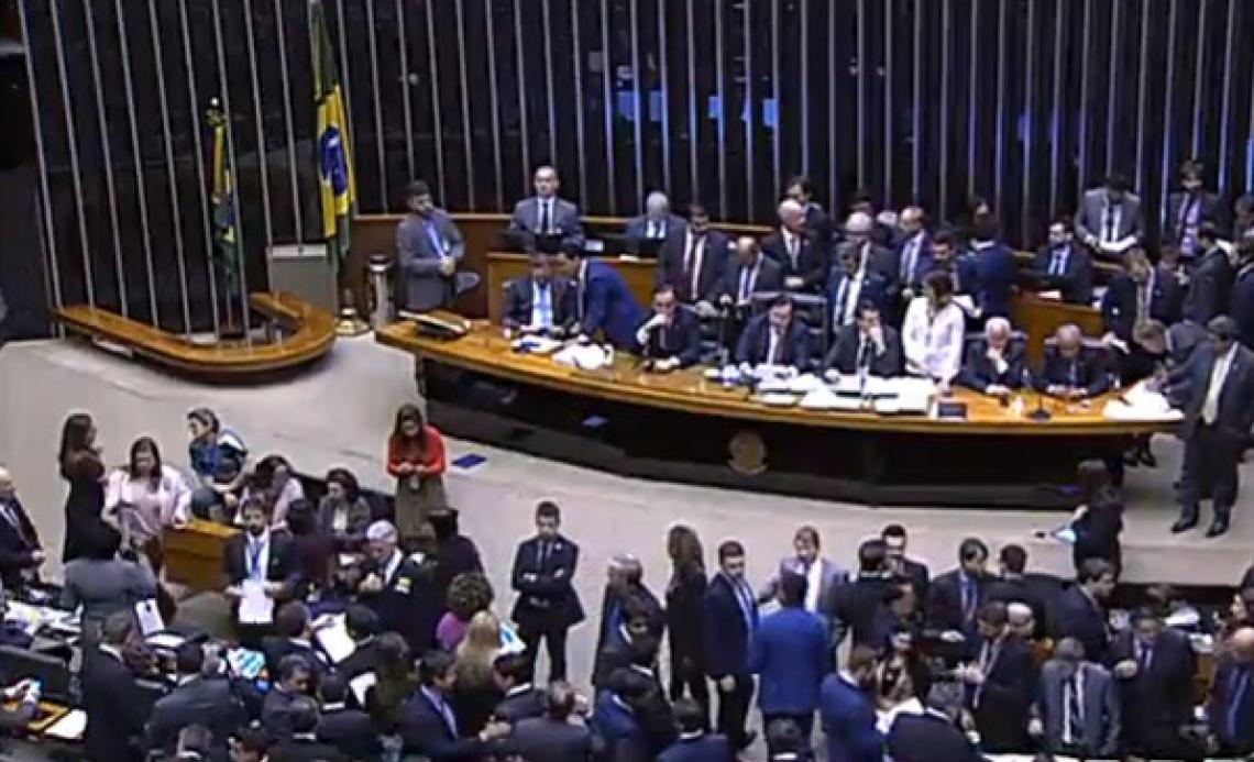 A Câmara dos Deputados aprovou o encerramento da fase de discussão, em plenário, da proposta de emenda que trata da reforma da Previdência Social do Pais