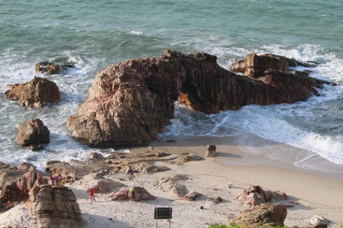A primeira área proposta para se tornar um distrito turístico seria Jericoacoara