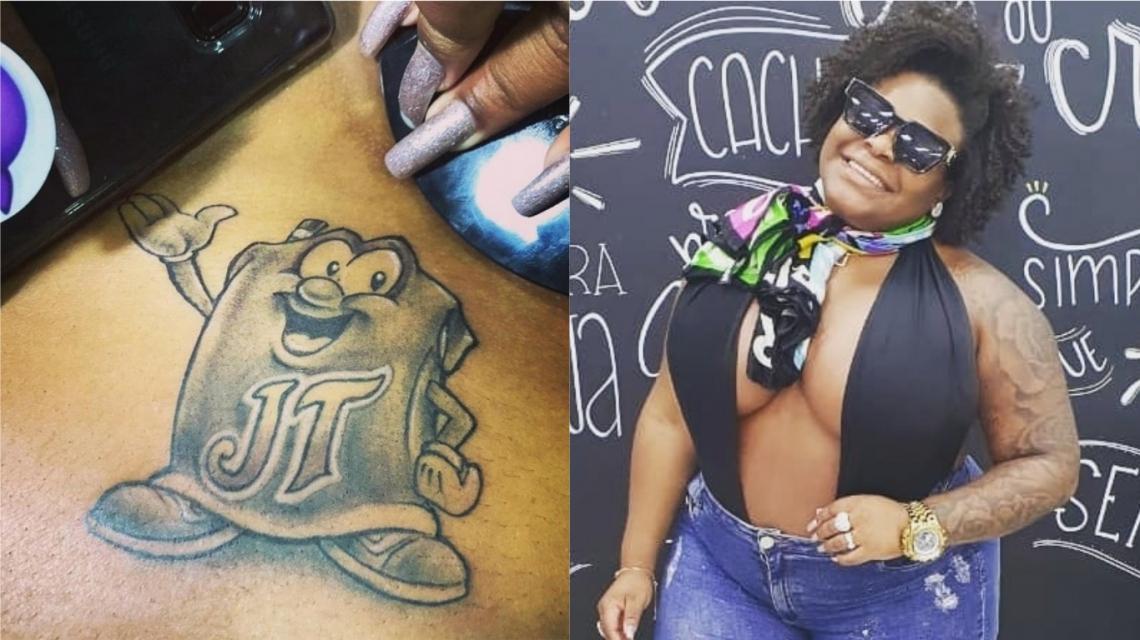 Jojo Todynho faz tatuagem em homenagem a desenho que deu origem a seu nome artístico.