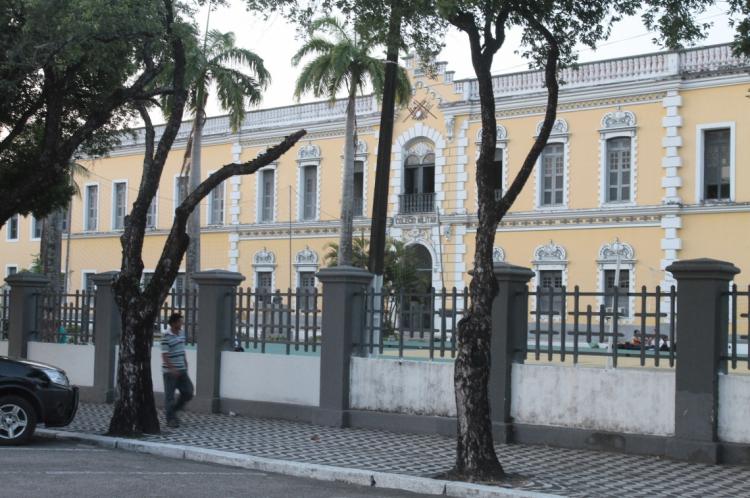 O Colégio Militar de Fortaleza, no Centro, sediará a prova para 1.125 estudantes no Ceará