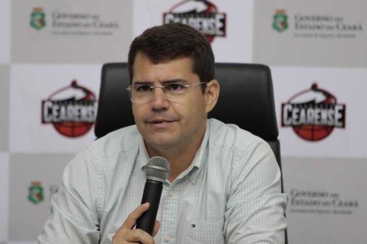 Rogério Pinheiro, secretário de Esporte e Juventude do Estado (Sejuv), disse que sonha com uma final de Sul-Americana no Castelão (Foto: Tatiana Fortes)