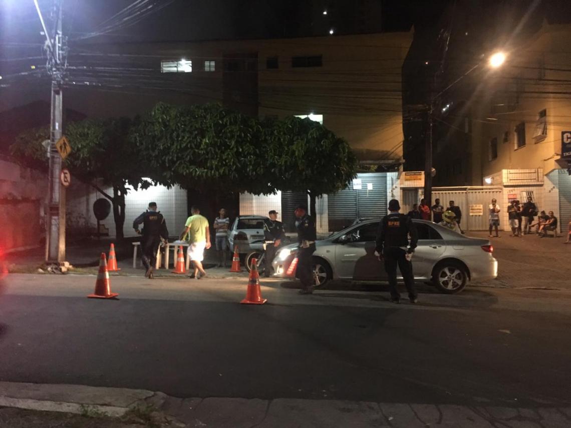 Polícia realizou operação no Benfica