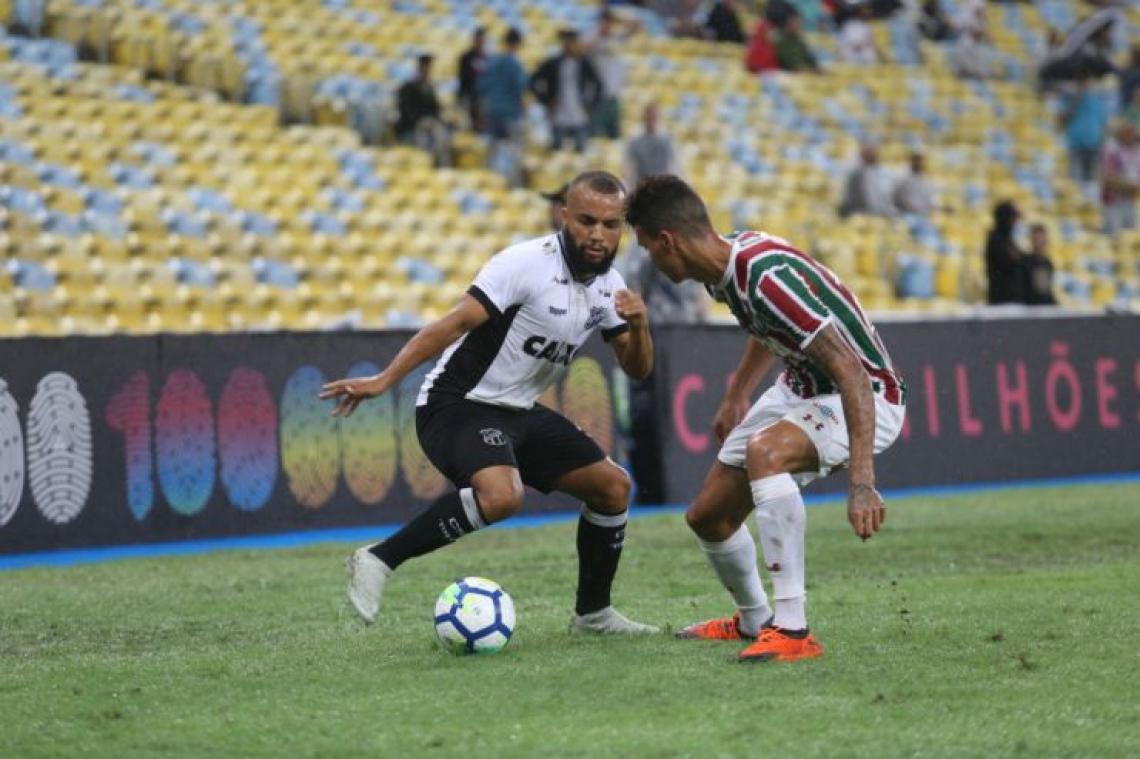 No primeiro turno, Ceará encarou o Fluminense, concorrente direto, no Maracanã