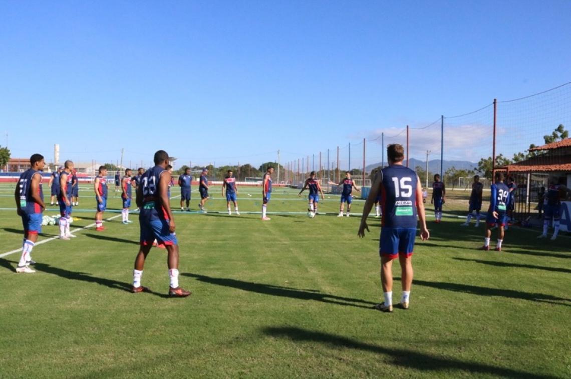 Tricolor encerrou a preparação com treino no CT Ribamar Bezerra, em Maracanaú.