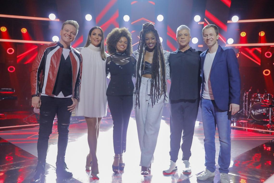 Técnicos e apresentadores da 8ª edição do The Voice Brasil