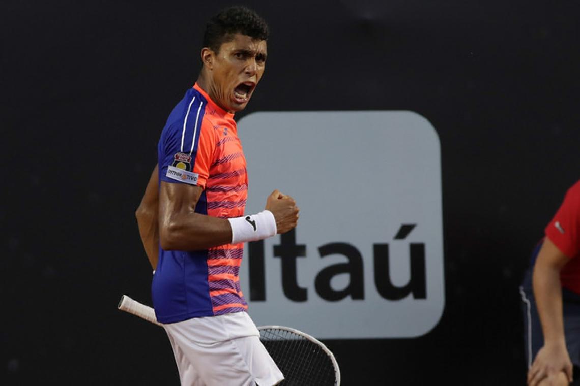 Cearense Thiago Monteiro conquistou neste mês de julho o challengger de Braunschweig