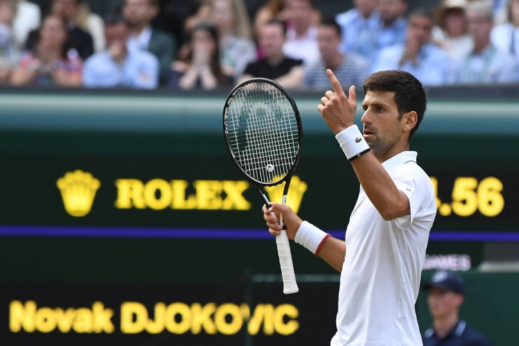 Novak Djokovic é líder do ranking mundial de tênis  (Foto: AFP)