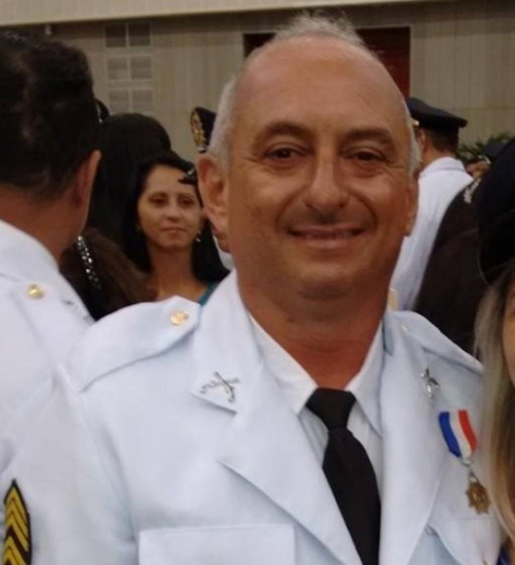 Alveni da Silva, sargento assassinado em Fortaleza nesta madrugada