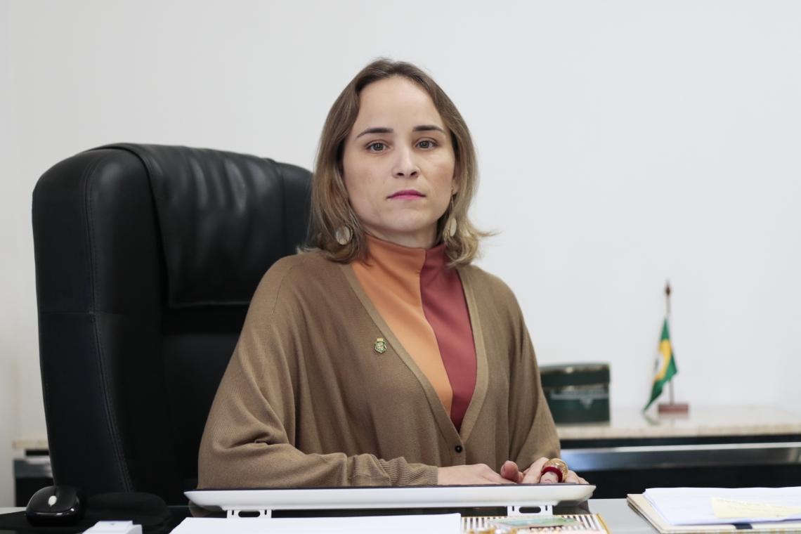 Secretária critica mudanças no Imposto de Renda que tramita no Congresso (Foto: Tatiana Fortes)