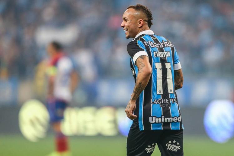 O cearense Everton Cebolinha foi um dos principais destaques do elenco gremista nos últimos anos   (Foto: Lucas Uebel/Gremio FBPA)