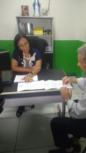 Então vice-prefeito, Artur Nery tomou posse como prefeito em 2019 após a Câmara cassar o então gestor José Hilson de Paiva (Foto: Nut Pereira/O POVO)
