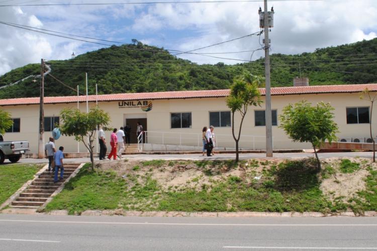 Universidade da Integração Internacional da Lusofonia Afro-Brasileira, em Redenção (Foto: DIVULGAÇÃO)