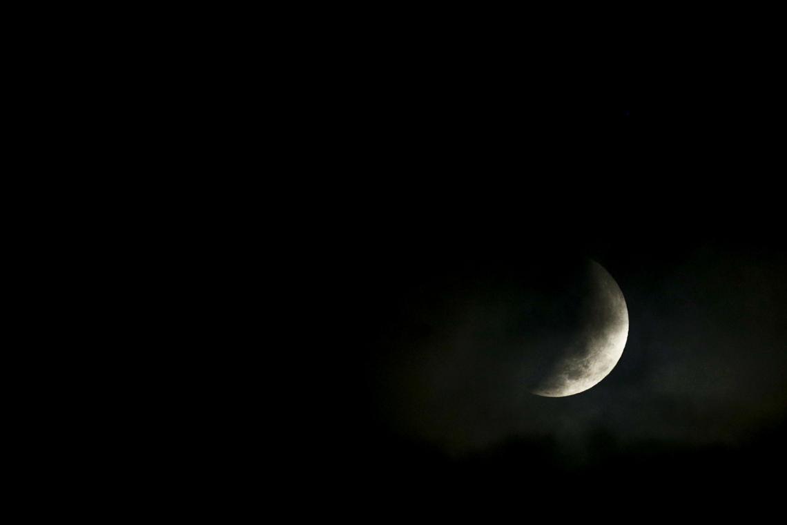 Eclipse Lunar em Fortaleza
