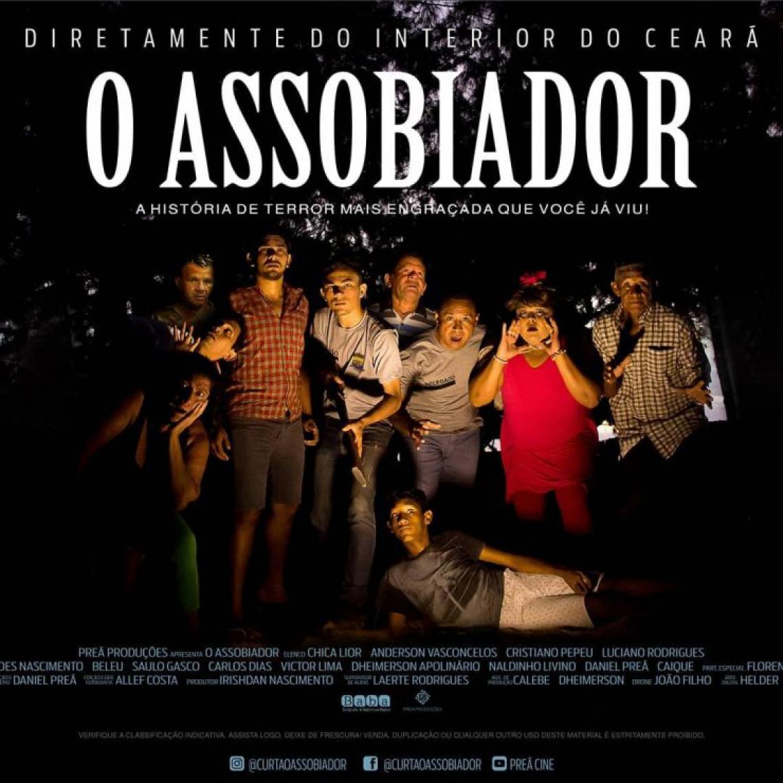 Cartaz de divulgação do filme O Assobiador