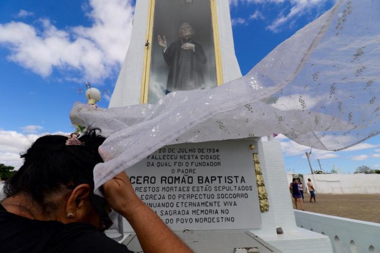 Festa de 176 anos de Padre Cícero ocorre dia 24 de março (Foto: Fabio Lima)