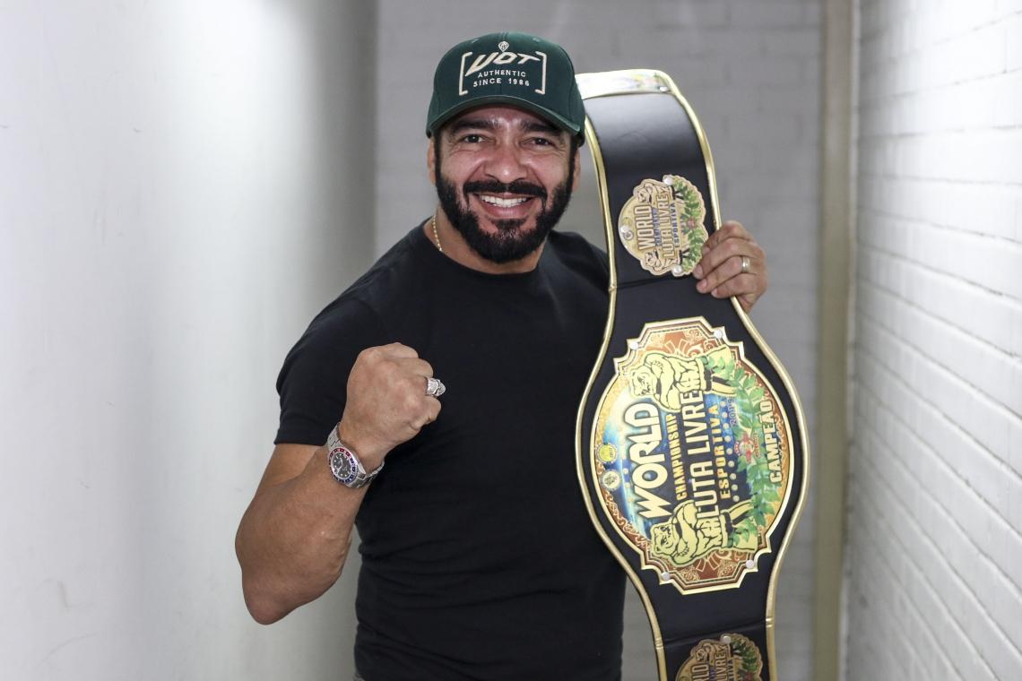 Marcos Mota é graduado em quase dez tipos de luta