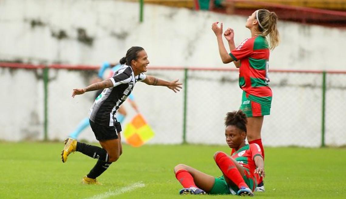 Equipe venceu a Portuguesa por 3 a 0 em São Paulo nas oitavas de final