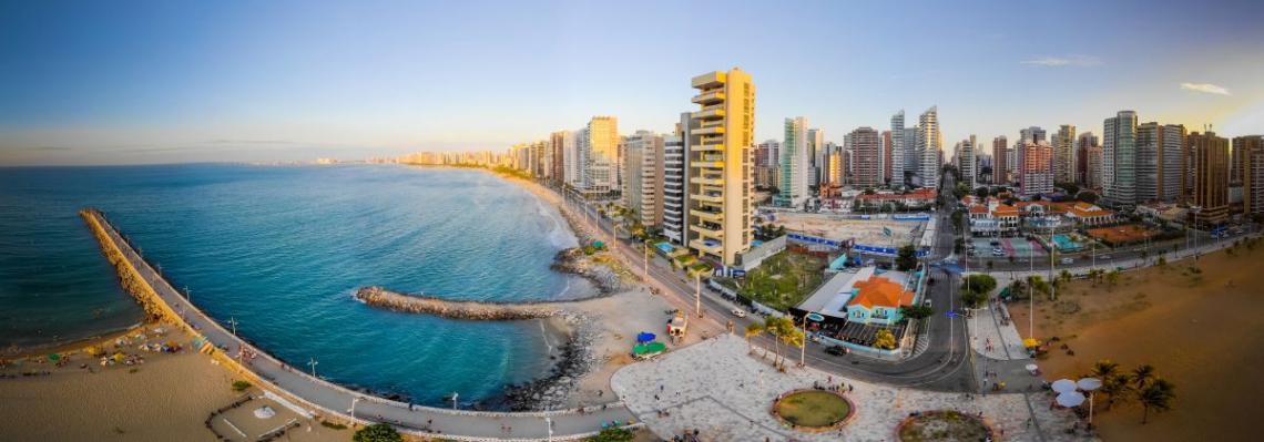 A capital cearense só aparece atrás de Recife. Salvador está no terceiro lugar