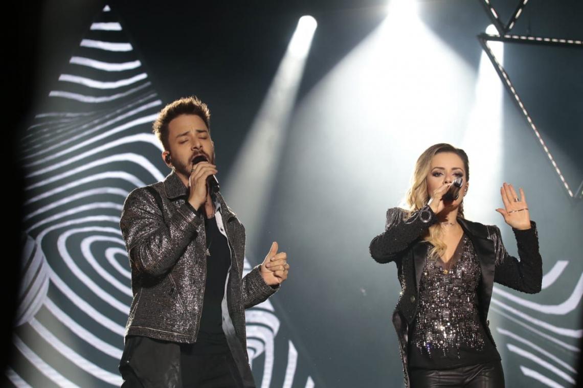 Show de Sandy e Júnior em Fortaleza
