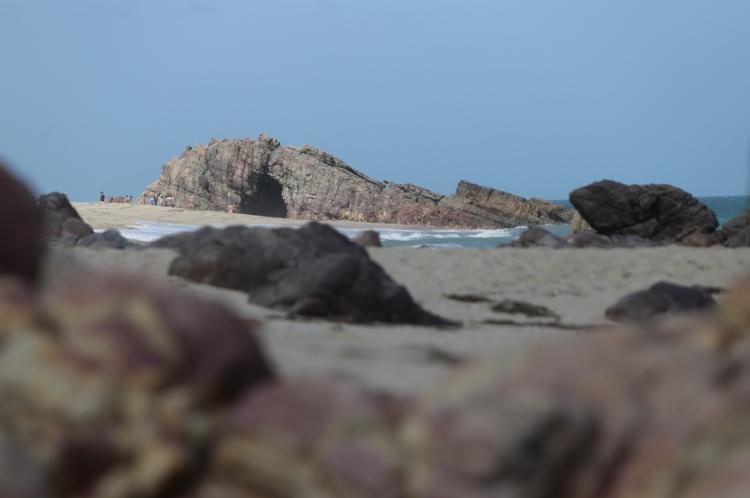 Pedra Furada, em Jericoacoara