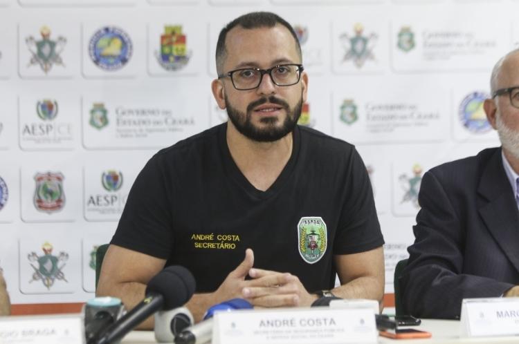 O titular da SSPDS, André Costa