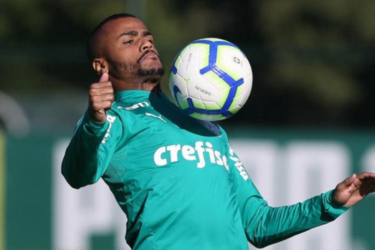 Felipe Pires é o novo reforço do Leão  (Foto:  Cesar Greco/Palmeiras)