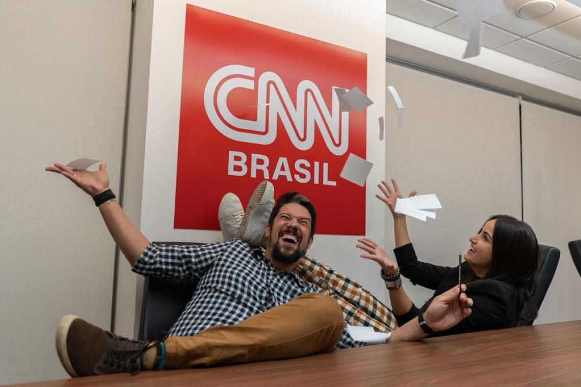 Após deixarem a Globo, Mari Palma e Phelipe Siane fecham com CNN Brasil.