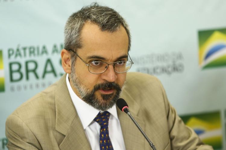 Ministro da Educação, Abraham Weintraub (Foto: Marcelo Camargo/Agência Brasil)