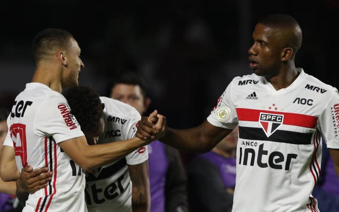 Tricolor Paulista venceu Chapecoense por 4 a 0