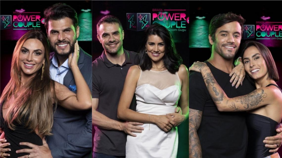 Nicole Bahls e Marcelo Bimbi, Mariana Felício e Daniel Saullo e André Coelho e Clara Maia estão na final do Power Couple Brasil 4.