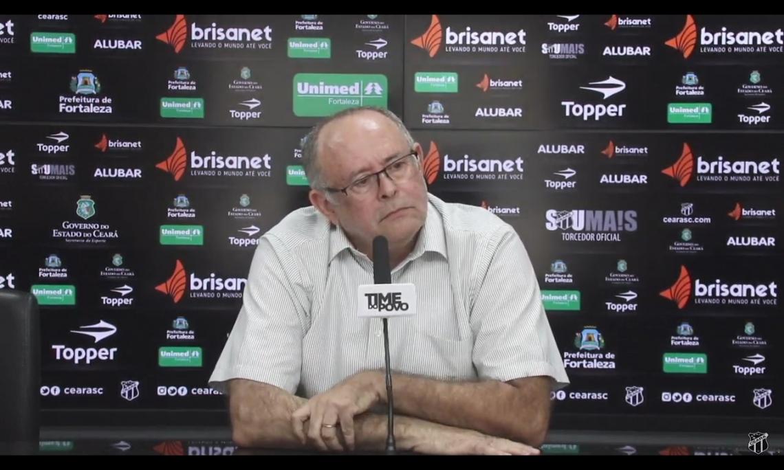 Raimundo Pinheiro esteve na reunião com a CBF e se convenceu que não houve má fé nas decisões equivocadas da arbitragem de São Paulo x Ceará