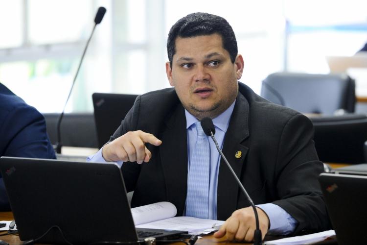 Davi Alcolumbre (DEM-AP), presidente do Senado (Foto: Marcos Oliveira/Agência Senado) (Foto: Marcos Oliveira/Agência Senado)