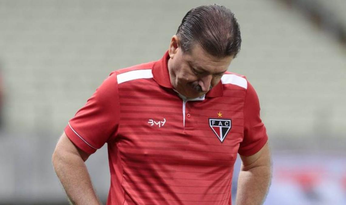 Leandro Campos acumulou três derrotas em cinco jogos