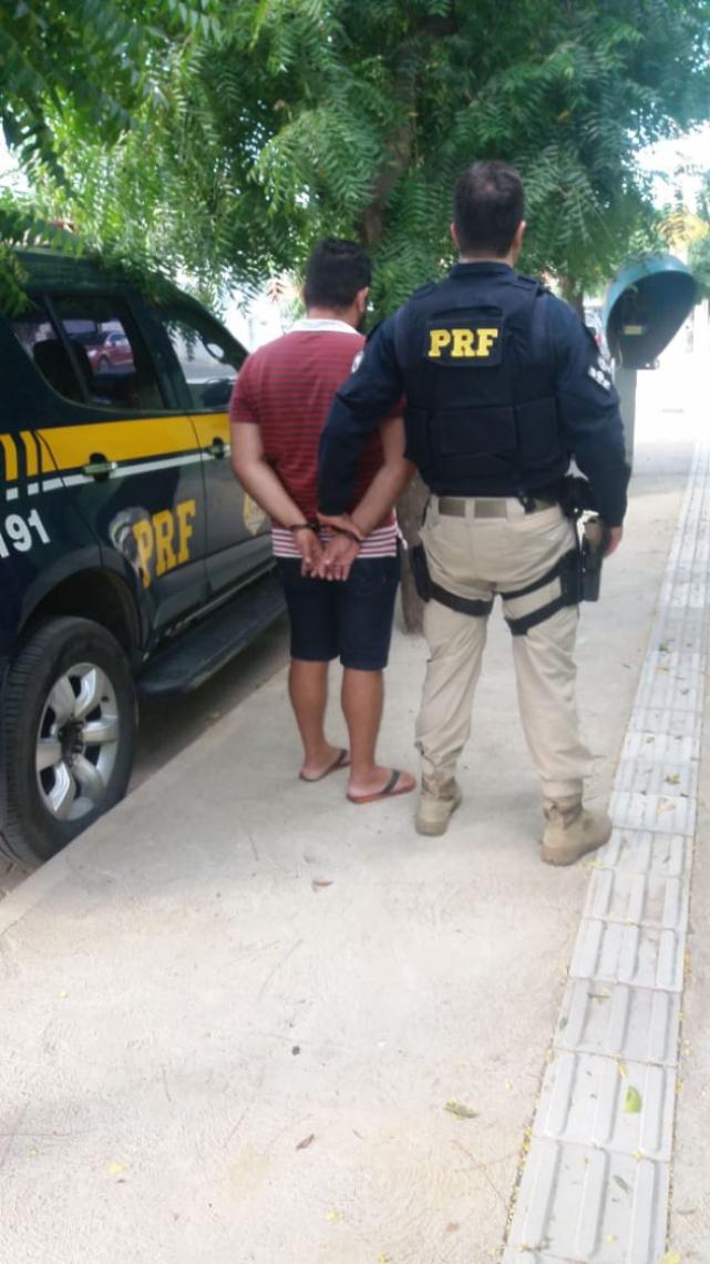 Acusado seguia com destino a Fortaleza