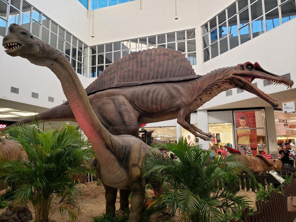 Exposição Mundo Jurássico acontece no Cariri Garden shopping até 25 de agosto