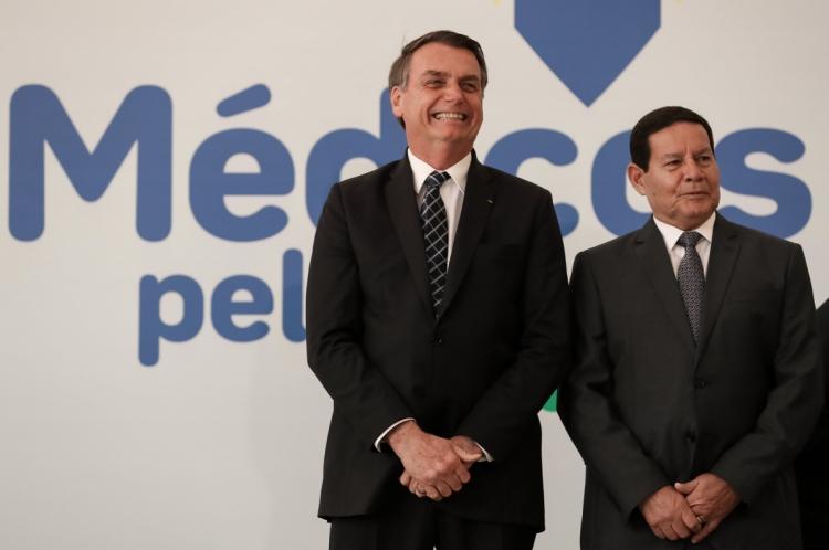 Presidente participou da cerimônia de lançamento do novo Mais Médicos, o Médicos pelo Brasil