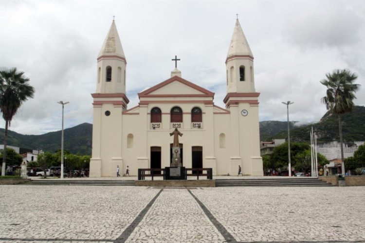 Igreja Matriz de Itapipoca (Foto: Iana Soares)