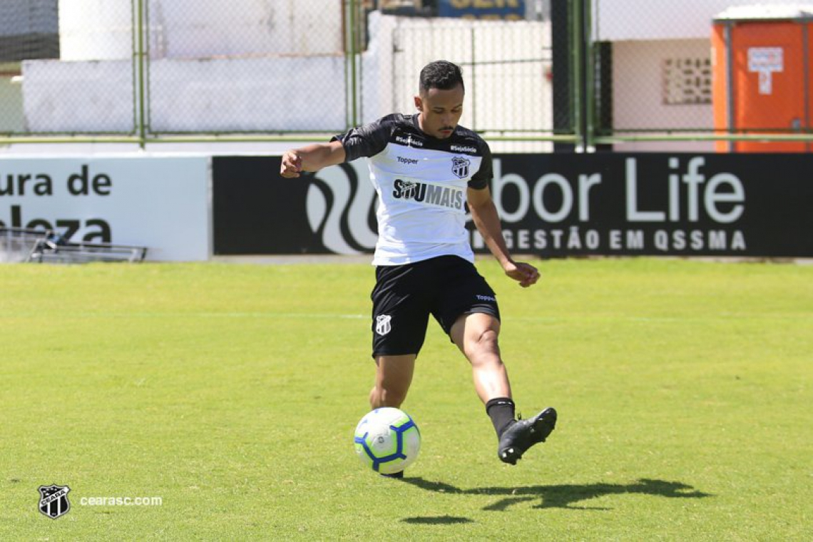 Lima vem treinando no Ceará desde meados do mês de julho
