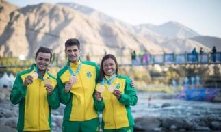 Ana Sátila e Pepê Gonçalves levaram dois ouros cada, enquanto Felipe Borges ganhou o bronze na canoagem slalom
