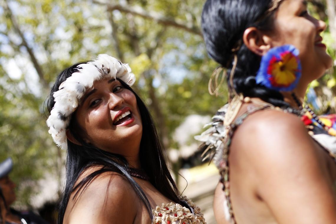Tapebas iniciam comemoração ao dia internacional do Povo Indígena, em 2019, última vez que os tapebas e demais povos indígenas puderam realizar suas comemorações