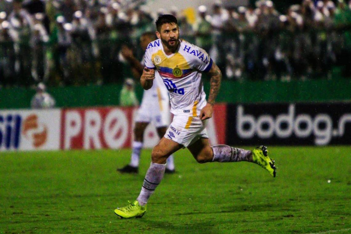 Everaldo é o goleador da Chapecoense