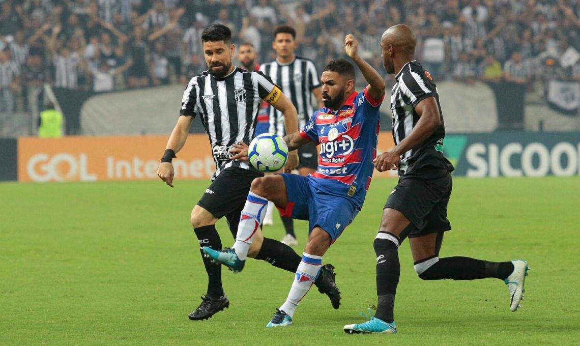 No primeiro turno, Ceará levou a melhor diante do Fortaleza
