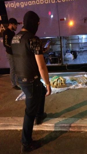Policiais civis apreendem droga no Interior do Ceará