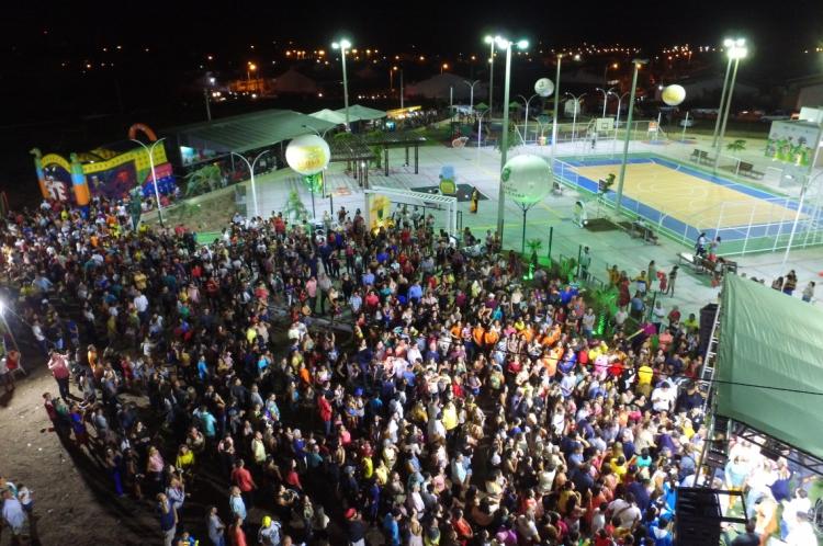 Inauguração da Praça Mais Infância de Camocim