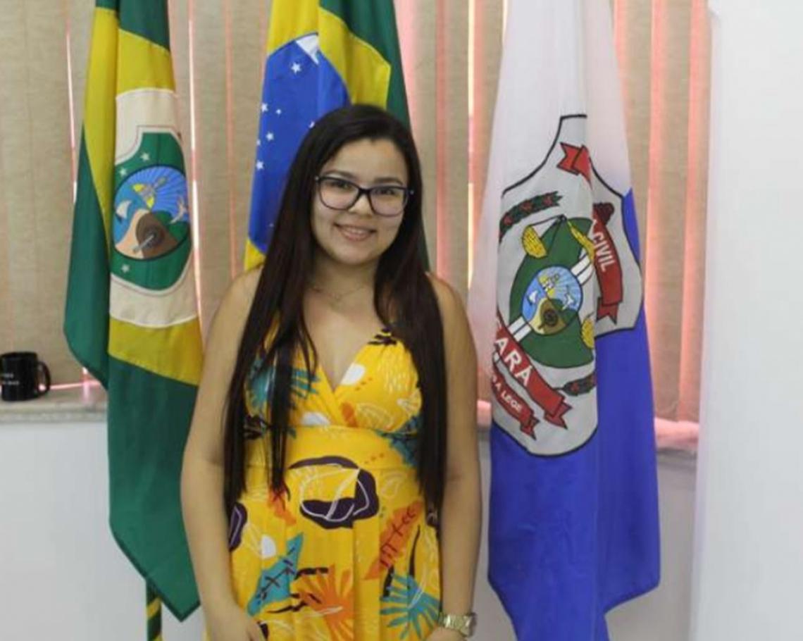 Tárgilla Bié é escrivã da Polícia Civil no Ceará
