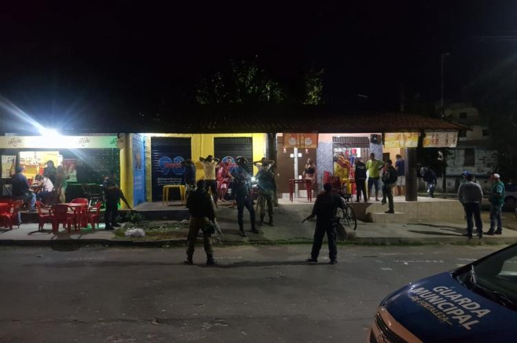 Operação Sossego foi realizada, em conjunto, pela Polícia Militar do Ceará (PMCE), através do Batalhão de Polícia do Meio Ambiente (BPMA), a Guarda Municipal de Fortaleza e a Agência de Fiscalização de Fortaleza (Agefis).